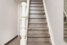 Houten trappen Traprenovatie / Steek uw trap in een nieuw jasje met NEWstairs traprenovatie. Keuze uit een uitgebreide collectie houtdecors en het is geheel naar wens en op maat te maken.