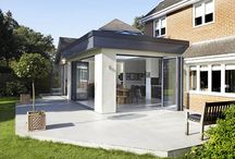 orangery ideas and contemporary infill at woodhayes