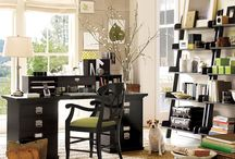 Home Office Layouts / Many of our customers work from home. Here's a compilation of some of our favorite home office layouts. / by Sococo