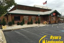 Commercial Landscaping @ Texas Roadhouse Hanover PA / Commercial landscaping @ Texas Roadhouse in Hanover PA York County by Ryan's Landscaping www.ryanslandscaping.com