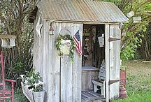Garden and potting sheds
