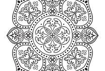 Templates for mandala - Šablony pro mandalu
