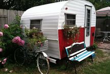 Campers ~ Misc. Exteriors / by Robin Mundy
