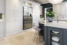Kitchen - Cabinets - Grey/White