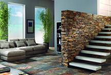 Piedra Natural. Pizarra / Revestimiento piedra natural nepal 30x60cm Azteca,pavimento de pizarra natural calibrada para una mejor colocación en suelo o paredes.El sabor de lo natural.