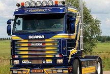 Legendary & Oldtime SCANIA Trucks (4) / Ancient Queen of the World Road Transports.Legendary icon of the road transports back in their time,making in nowdays, a real Legend Queen of the Road.