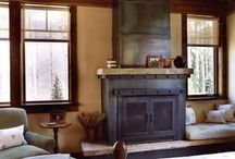 Rustic Fireplace Ideas / Remodeling Ideas