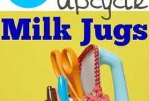milk jug ideas