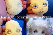 личико куклы