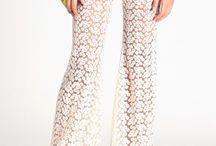 Lace/Crochet Pants
