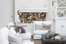 hvitt interiør