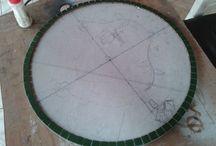Mosaico - Tampo de Mesa Bistrô / Tampo de mesa bistrô.