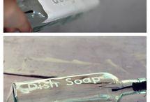 decorar frascos de cocina
