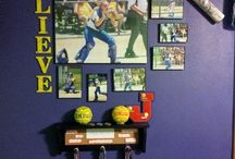 Softball bedroom