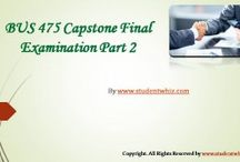 BUS 475 Capstone Final Exam Part 2
