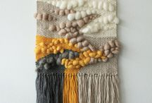 loom and wall hangings