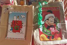 recycling bags and cards / by Debbie Powell