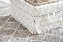Dwa pomysły na jedną sypialnię / #salon #livingroom #home #interior #design #ideas #dom #wnetrza