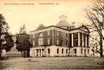 Alabama Colleges / You can also visit http://collegehistorygarden.blogspot.com/ for more information.