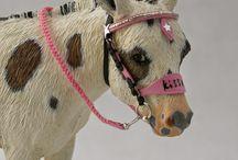 Modele koni / Jest to tablica o modelach koni oraz akcesoriach na nie