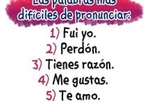 Mis lecciones de espanol