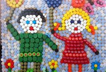 Lid Mania 2012 / The best art works made of plastic lids.