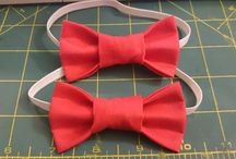 Boy bow and neck ties / Bow ties $7, neck ties $10. Prices don't include shipping. http://www.facebook.com/littledragonbabyboutique