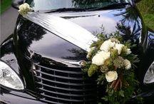"""WEDDINGS  """"car s decor"""""""