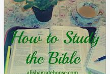 ♡how to study the bible♡