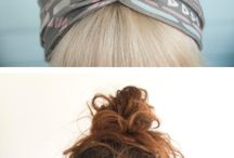 Hair Styling / Keeping fresh & exciting hair styles for medium to long hair. / by Kimberly Valentine