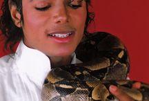 Michael Jackson with animals