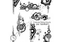 Steampunk Element Katzelkraft