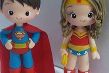Fofuchas super héroes