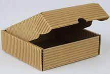 pudełko ozdobne z tektury karbowanej
