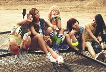 """[MUSIC] """"Girls be Ambitious"""" GLAM ✾ 1st Debut Single - 'Party(XXO)' / GLAM, which stands for """"Girls Be Ambitious,"""" is a 5-member girl group made up of members Miso, Zinni, Trinity, Dahee and Park Jiyeon. For their debut single, GLAM has take on a street and sporty concept. / by iHeart ♥ KPOP"""