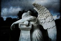 Calling All Angels / Angel Statues and Angels in Art  / by ~ Terri ~