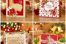 Seasons Greetings, Ultimate Crafts 2016 Christmas Collection | #ultimatecrafts