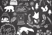 Winter Collection Stempel 2016