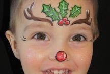 christmas face paints
