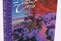 Book I: The Broken Circle: Yarns of The Knitting Witches / Potluck Yarn is a new trilogy by Cheryl Potter combining fantasy with fiber.