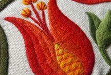 Kirjonta / Embroidery / by Lyylikki Laurila