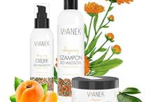 Vianek / VIANEK is a Polish brand of natural cosmetics, dedicated to women of all ages.  Combination of carefully selected ingredients, captivating fragrances and original  packaging, creates a unique message of the brand. VIANEK is natural cosmetics, which is a response to growing market demand and interest, not only conscious consumers.
