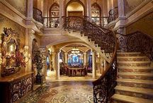 Gorgeous Staircases / Old World Luxury Staircases