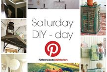 Saturday DIY-day / Every Saturday we will post a fun home DIY project for you to try!