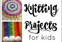 Simple knitting projects for kdis