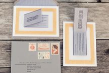 Wedding Invites and Stationery / Wedding invitation and stationery designs. Inspiration for our invitation line.