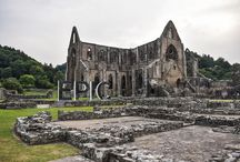 Tintern Abbey - It's truly Epic / Tintern Abbey's beauty once inspired the romantic poet Wordsworth, and visitors love its charm to this day.   But don't stop there – these Gothic ruins sit in the heart of the dramatic Wye Valley landscape that's just waiting for you to explore. Follow wooded paths for breathtaking views at the Devil's Pulpit, or catch a glimpse of the abbey while canoeing the River Wye.