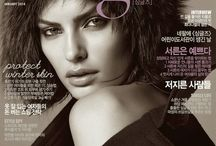 magazine- photoshoot Alyssa Miller Singles Korea Magazine Photoshoot Januari 2014 by Hong Jang Hyun