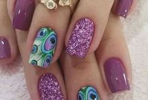 Nail Art / My favourite Narly Nails (even though I don't have nails worth mentioning)