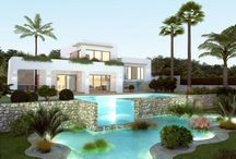 Beautiful Houses Spain / A lovely selection of Stunning Villas on the Costa Blanca North